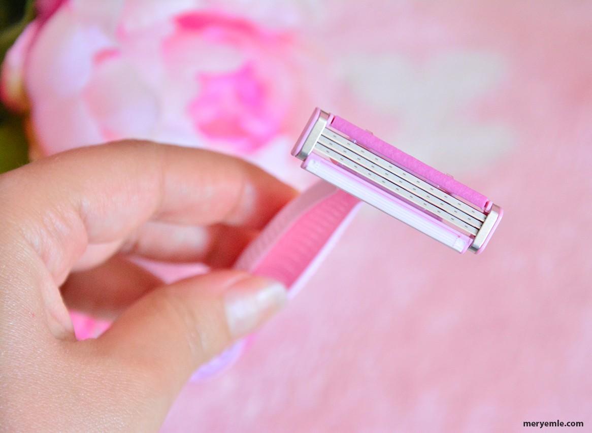 Gillette Simply Venus 3 Kullan At Kadın Tıraş Bıçağı 4'lü Kullananlar