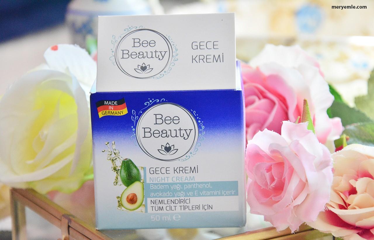 Bee Beauty Nemlendirici Gece Kremi İncelemesi