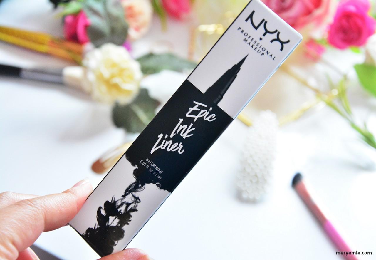 Nyx Epic Ink Liner Waterproof Nasıl?