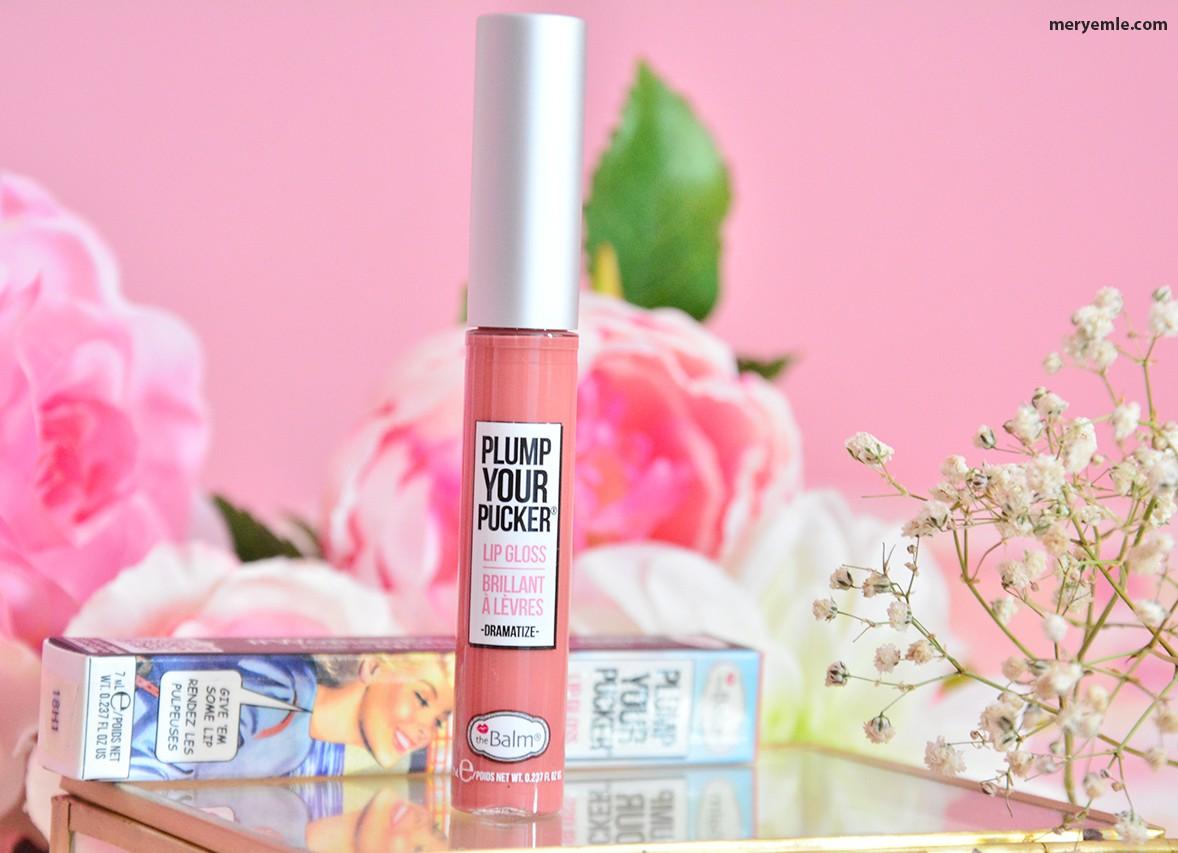 The Balm Plump Your Pucker Lip Gloss Dramatize Yorumlar