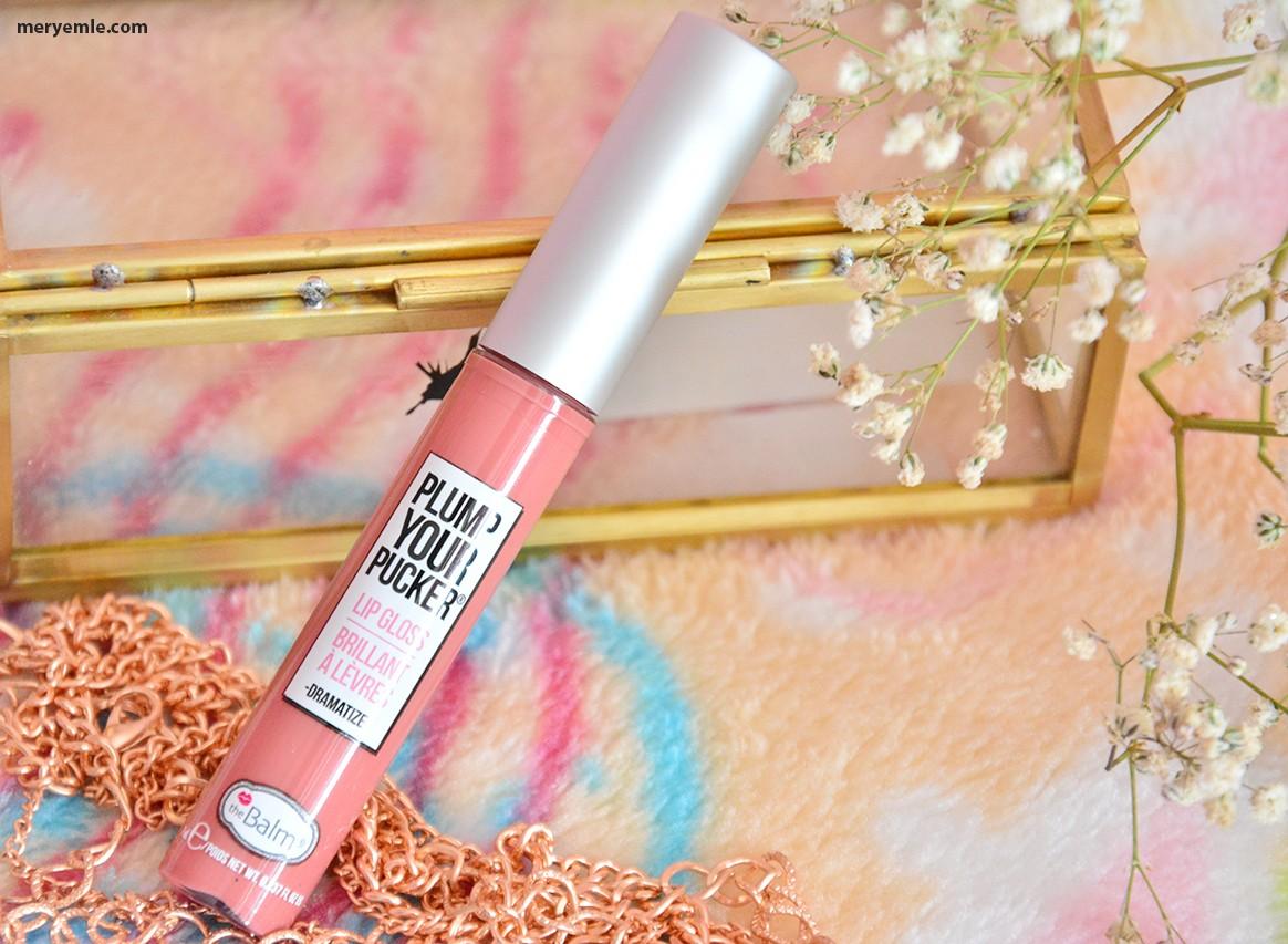 The Balm Plump Your Pucker Lip Gloss Dramatize Blog