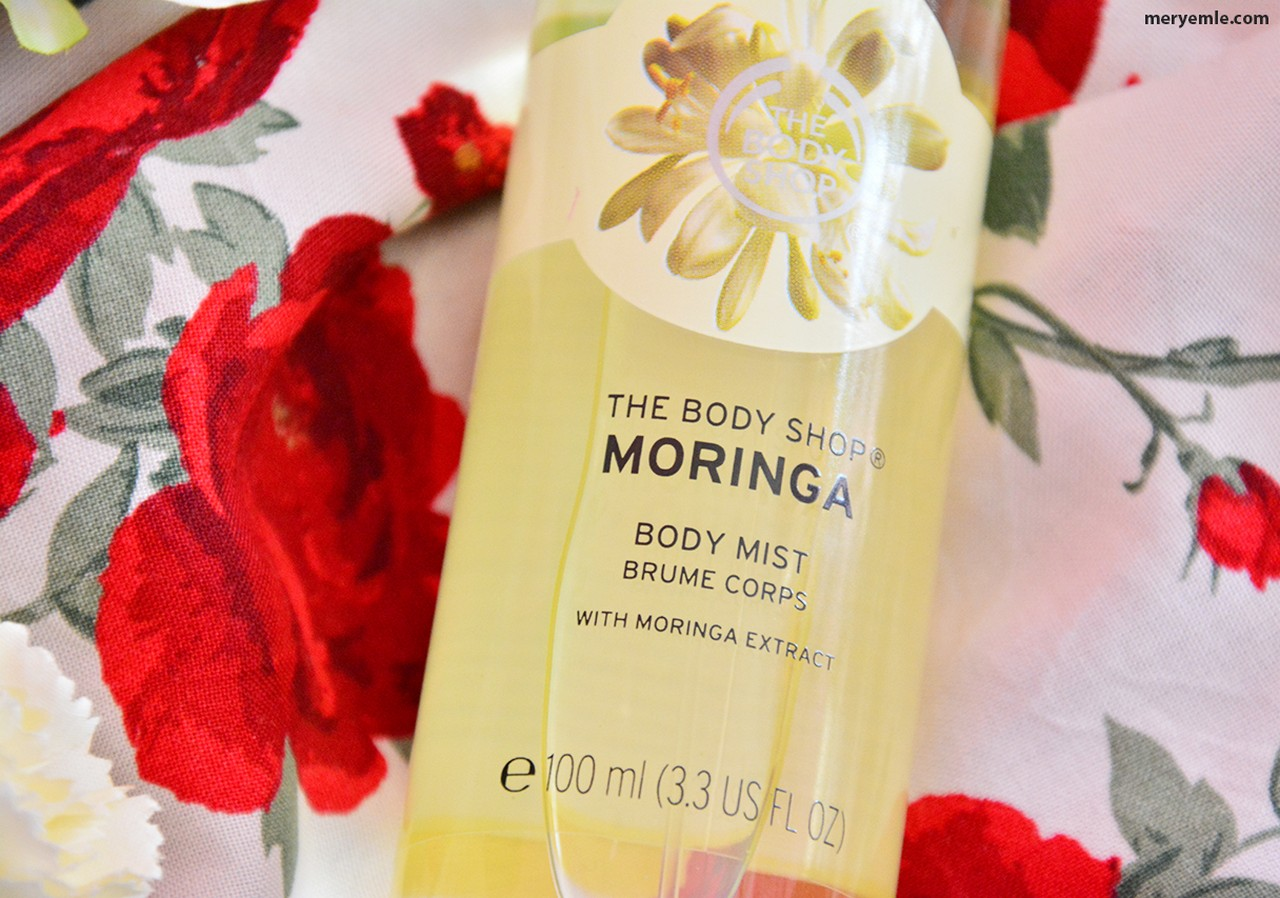 The Body Shop Moringa Vücut Spreyi Blog