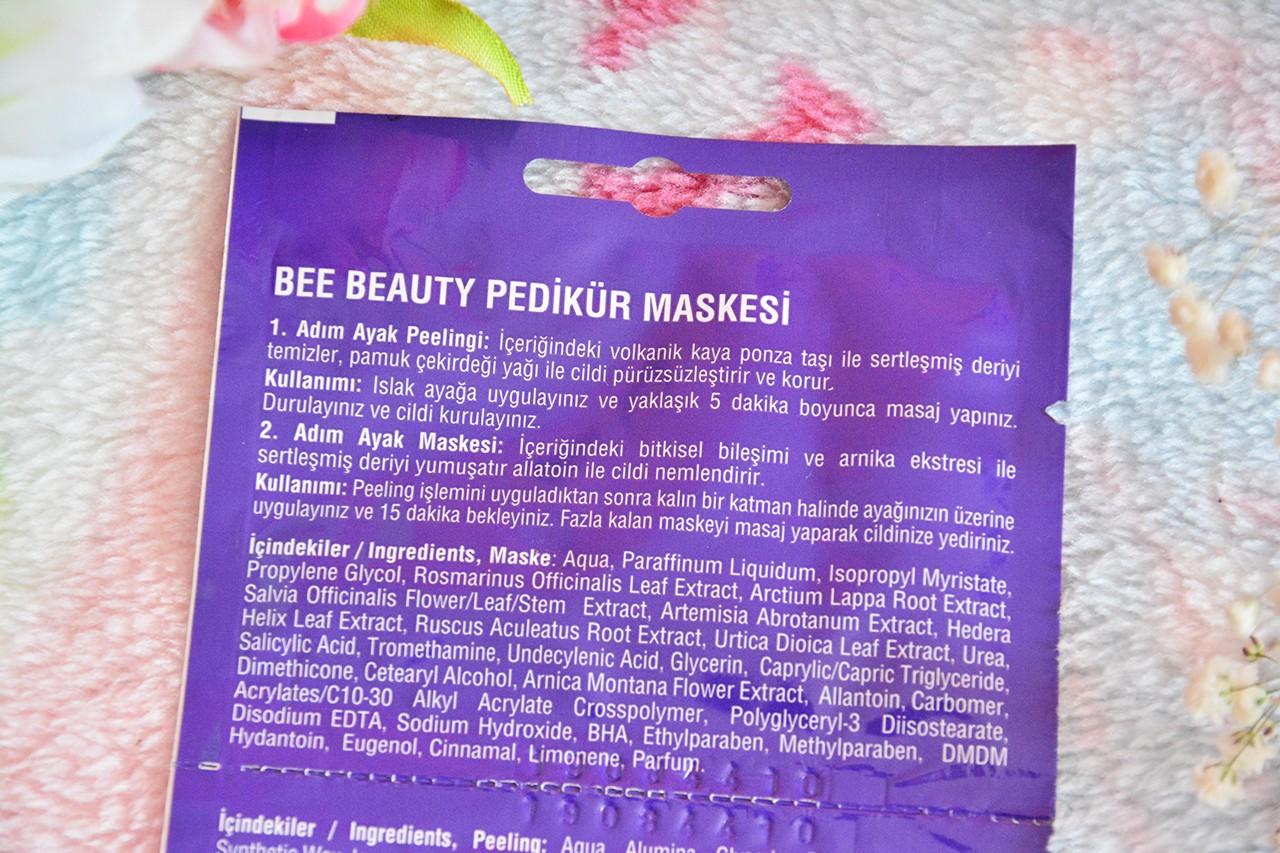 Bee Beauty Pedikür Maskesi Nasıl Kullanılır?