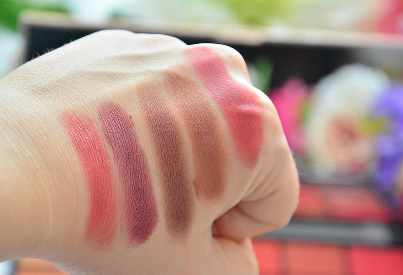 Makeup Revolution Life On The Dance Floor Guest List Far Paleti Swatch