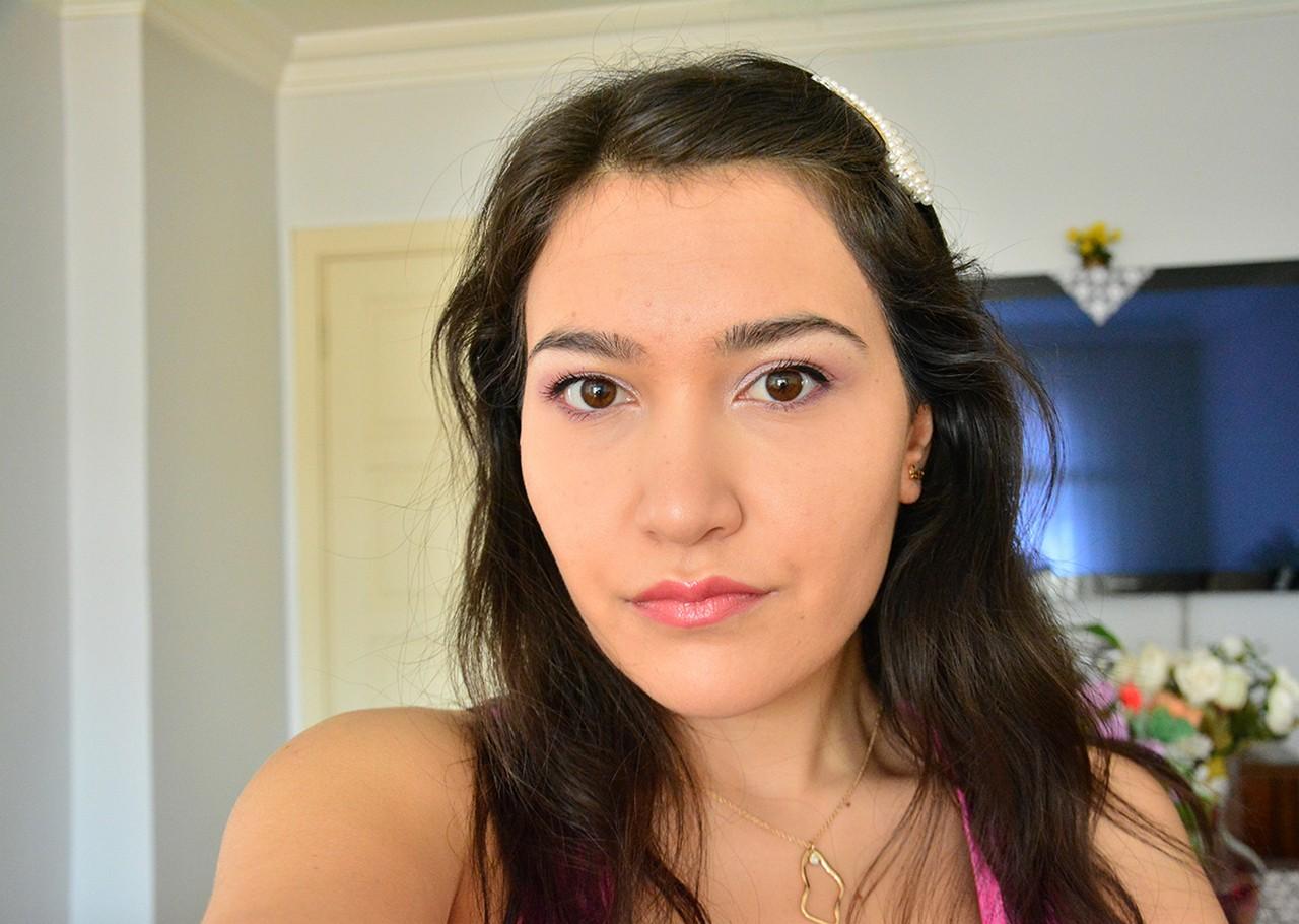 Lila Tonlarında Makyaj
