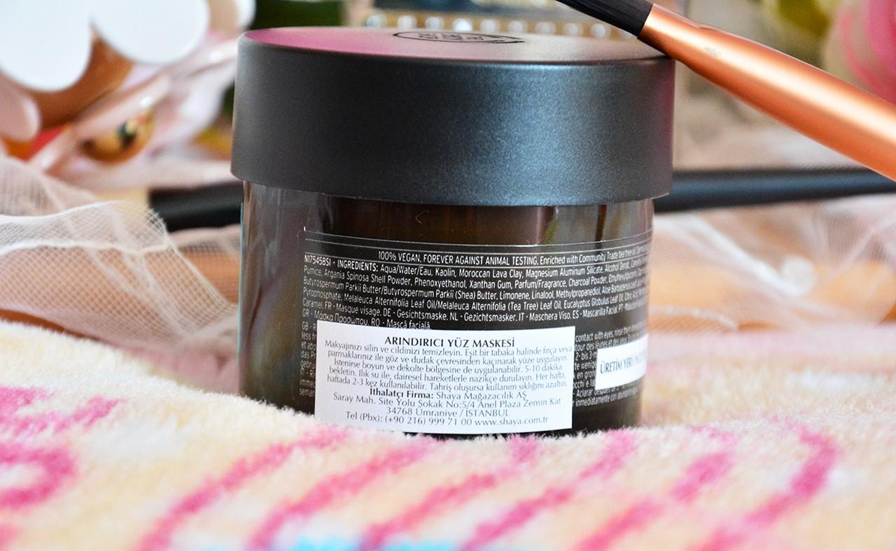 The Body Shop Himalayan Charcoal Toksinlerden Arındırıcı Işıltı Veren Maske Ne İşe Yarar?