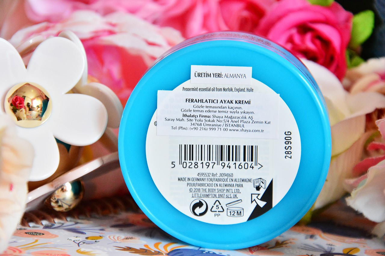 The Body Shop Peppermint Ferahlatıcı Ayak Kremi Ne İşe Yarar?