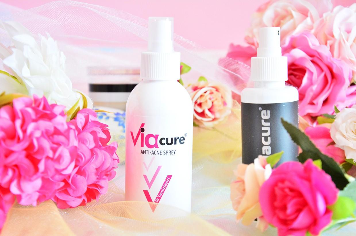 Viacure Anti Acne Sprey Kullanımı