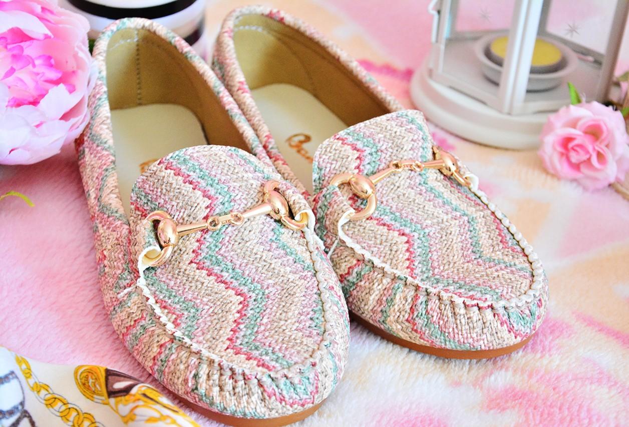 Bambi Yeşil Kadın Loafer Günlük Ayakkabı Modelleri
