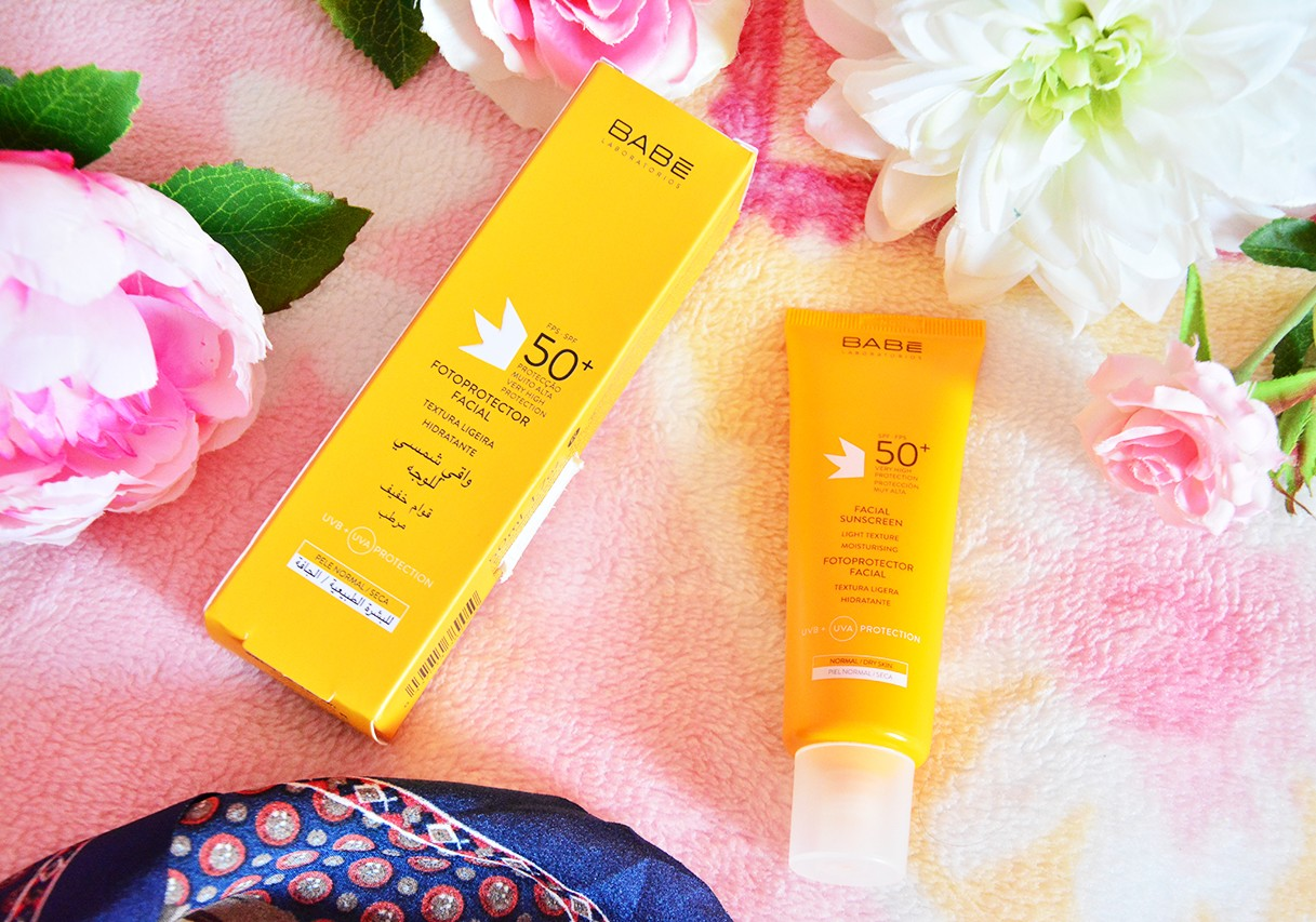 Babe Facial Sunscreen SPF 50 Güneş Kremi Blog