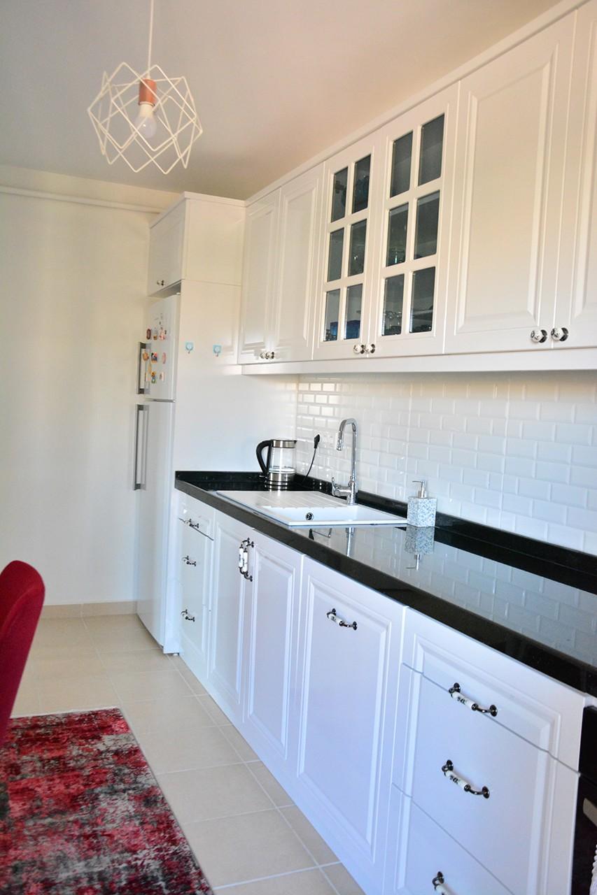 Beyaz Mutfak Modelleri Modern