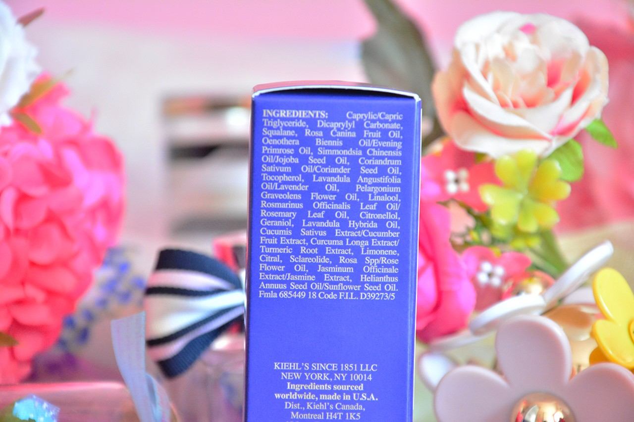 Kiehl's Midnight Recovery Concentrate Serum İçeriği