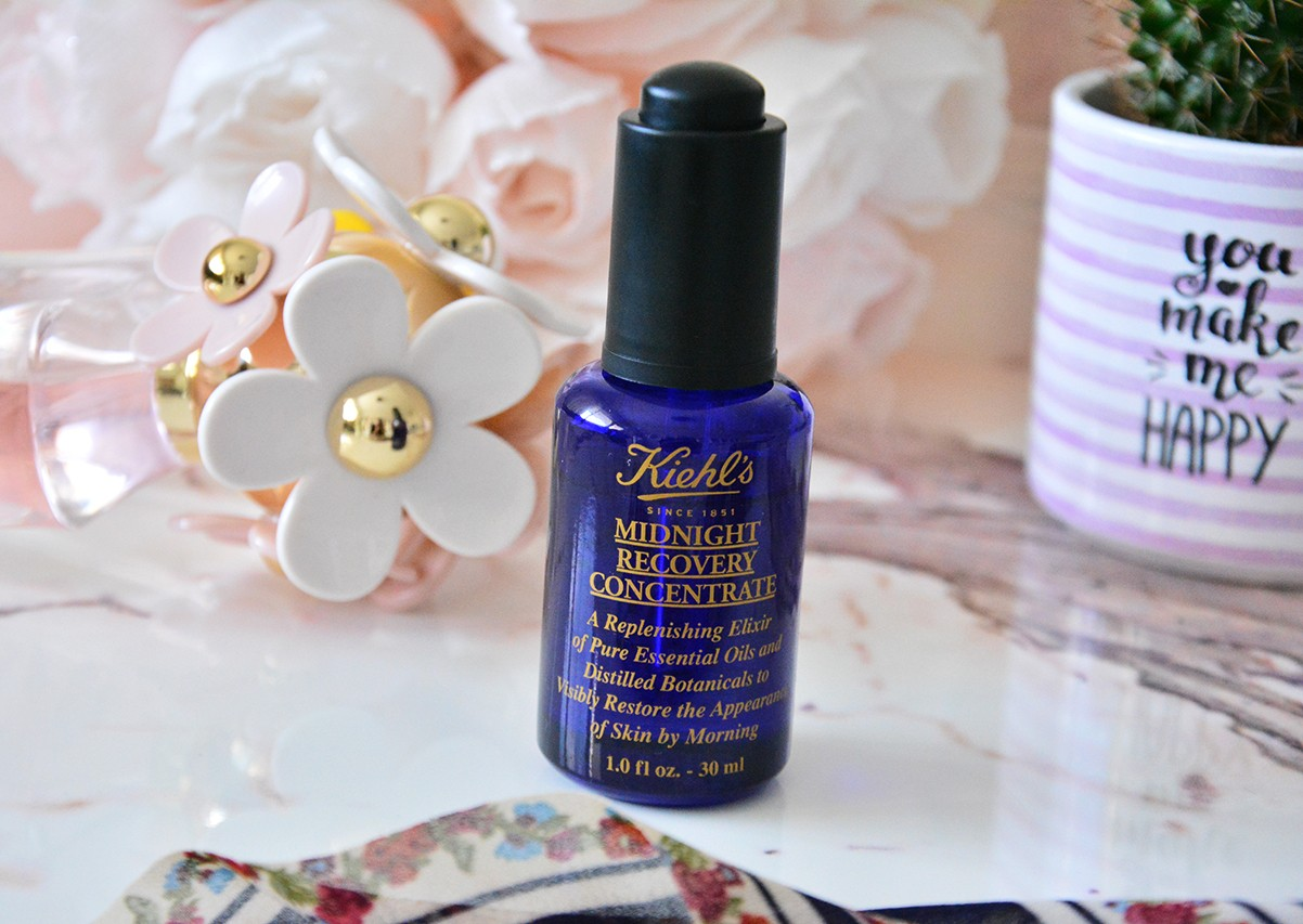 Kiehl's Midnight Recovery Concentrate Serum Kullananlar