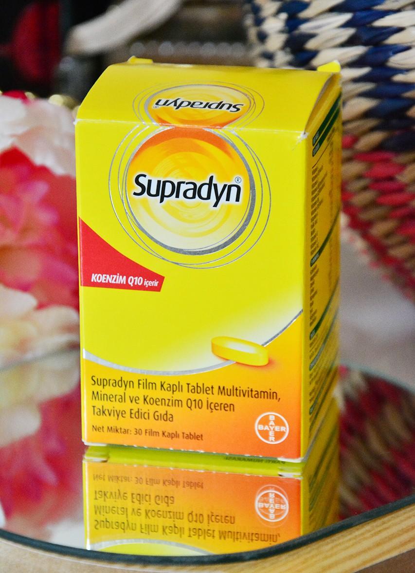 Supradyn Hangi Vitaminler Var?