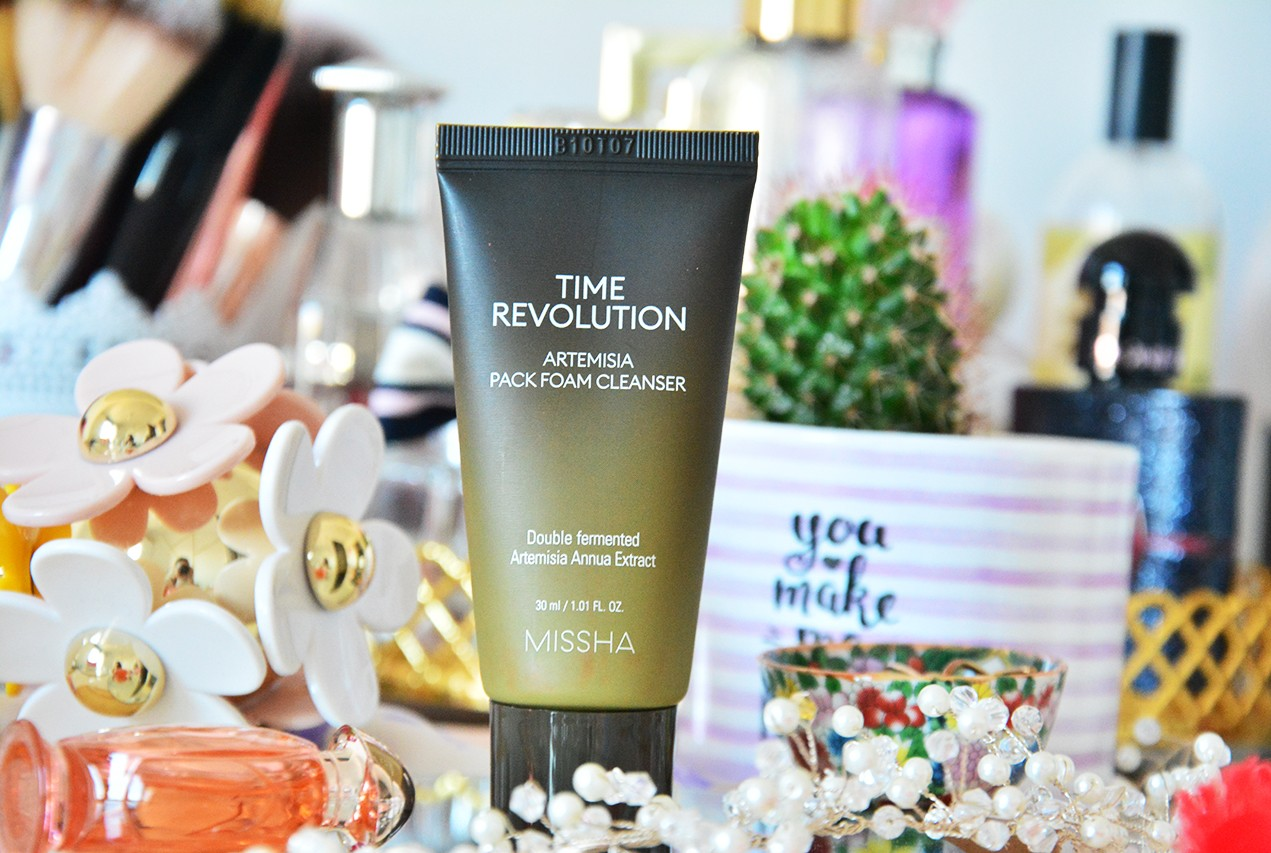 Missha Time Revolution Artemisia Pack Foam Cleanser Kullananlar